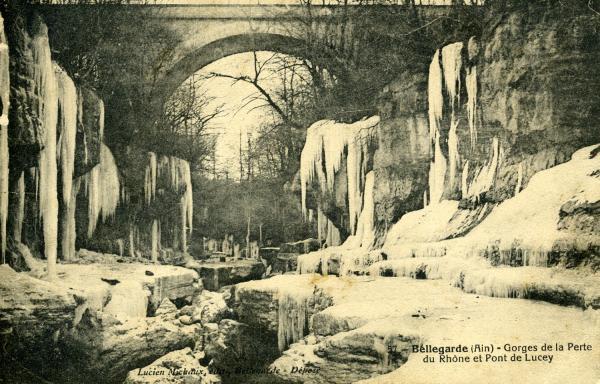 Bellegarde - Gorges de la Perte du Rhône et Pont de Lucey.