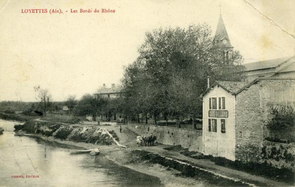 Loyettes (Ain). - Les Bords de Rhône