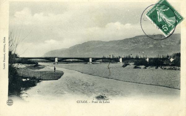 CULOZ. - Pont de Laloi