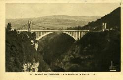 SAVOIE PITTORESQUE. - Les Ponts de la Caille.