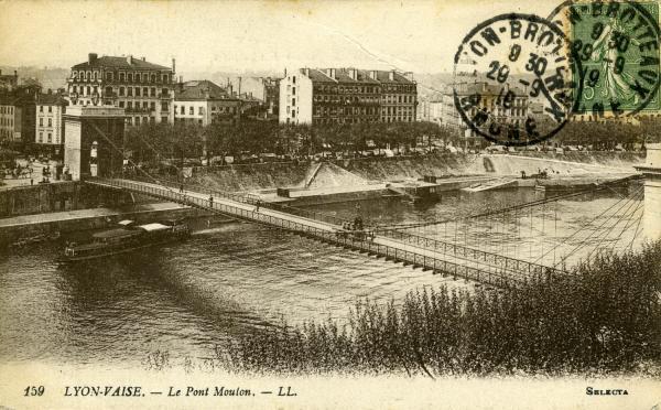 Lyon-Vaise. - Le Pont Mouton