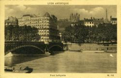 Lyon artistique - Pont Lafayette