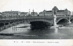 Lyon - Pont des Facultés - Faculté de Droit
