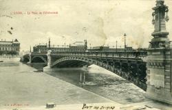Lyon. - Le Pont de l'Université