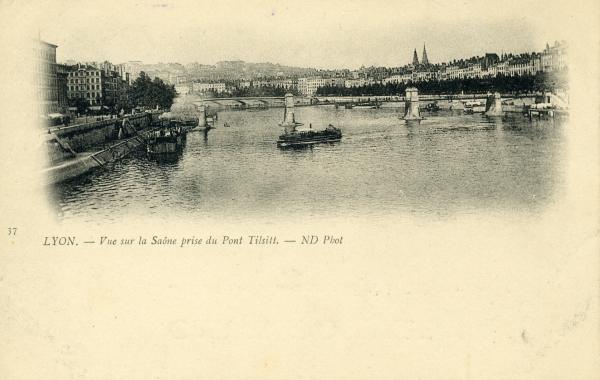 Lyon - Le Pont du Palais de Justice