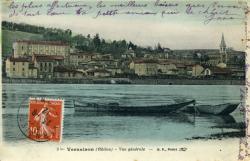 Vernaison (Rhône) - Vue générale.