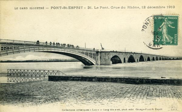 Le Gard illustré - Pont-St-Esprit