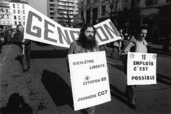 [Manifestation des salariés de SRCF-Gendron à Villeurbanne]