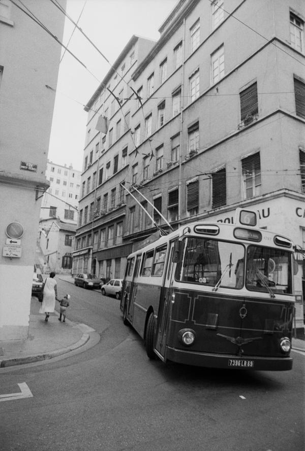 [Trolley-bus de la ligne 6 (Terreaux-Croix-Rousse)]