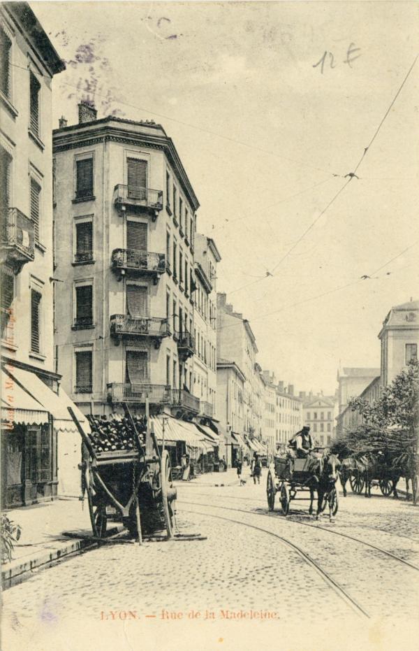 Lyon : Rue de la Madeleine