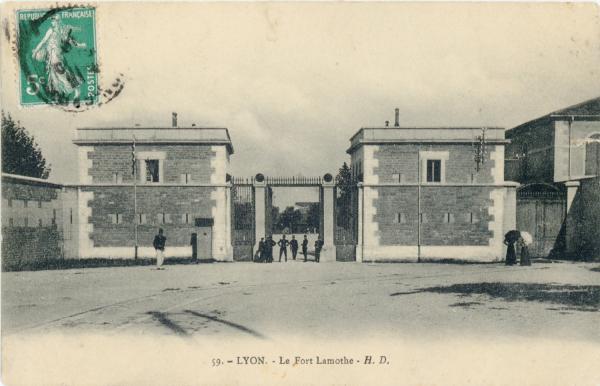 Lyon : Le Fort Lamotte