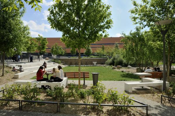 Square Averroès, La Duchère