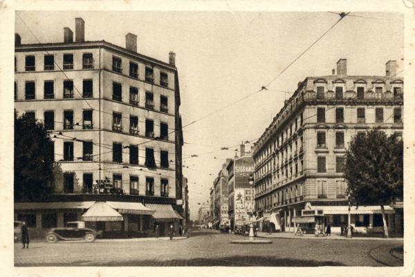 Lyon : Cours Vitton.