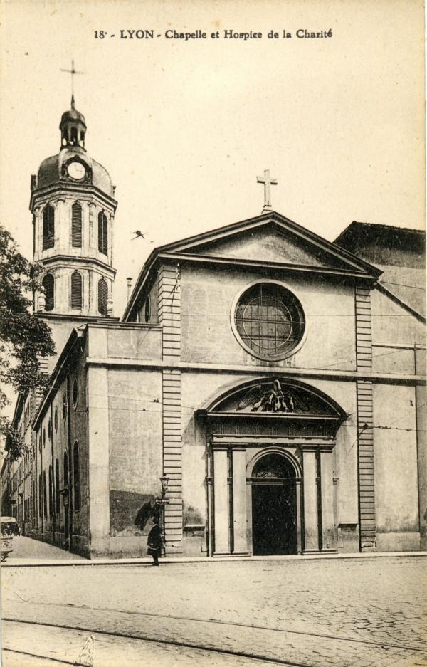 Lyon : Chapelle et Hospice de la Charité.