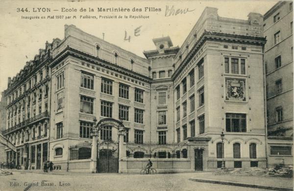 Lyon : Ecole de la Martinière des Filles.
