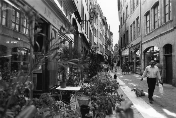 [Flânerie dans les rues du Vieux-Lyon]