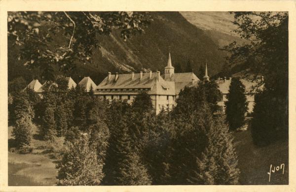 Carmel du Reposoir (Hte-Savoie) ; Le Monastère.