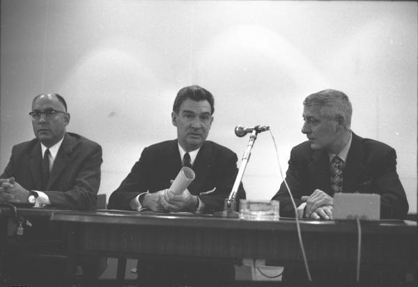 Conférence au Palais des Congrès