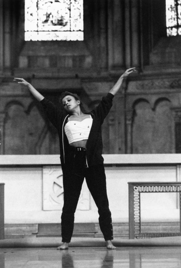 [Biennale de la danse de Lyon (1992). Compagnie Maryse Delente]