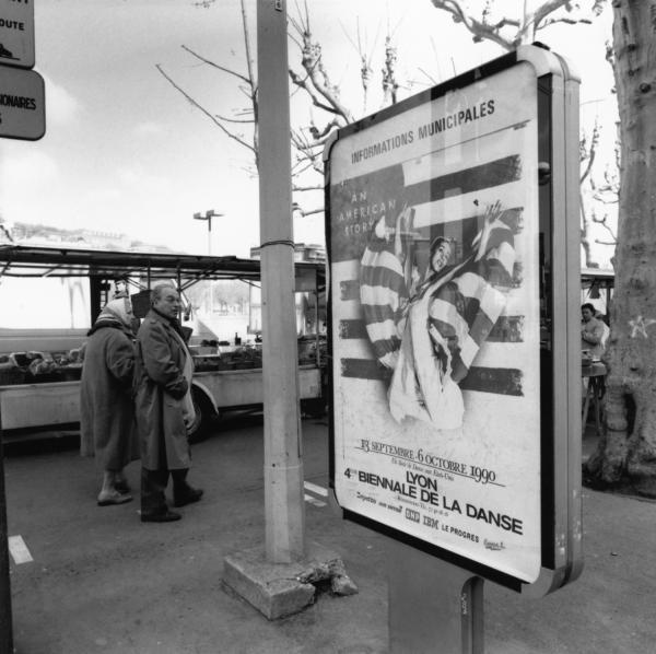 [Affiche de la 4e Biennale de la Danse de Lyon (1990)]