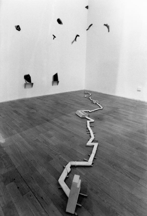 """[Musée d'art contemporain de Lyon. Exposition """"La collection du musée Sztuki de Lodz""""]"""