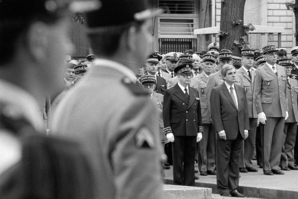 [Obsèques du général Yves Béchu, gouverneur de la Ve région militaire]