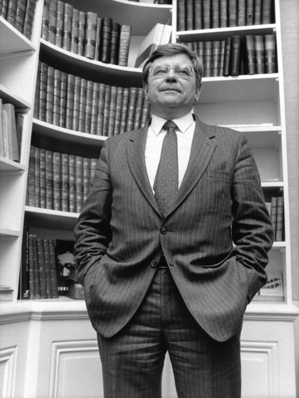 [Barreau de Lyon. Jean Bonnard, bâtonnier de l'Ordre des avocats (1988-1989)]