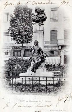 Lyon : Monument de J. Soulary