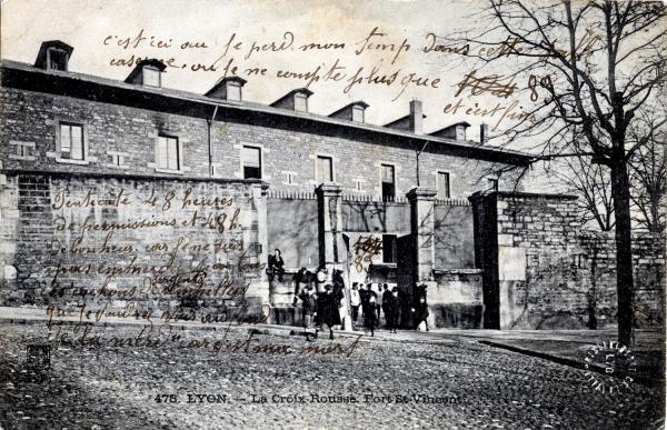 LYON : La Croix-Rousse ; Fort St-Vincent
