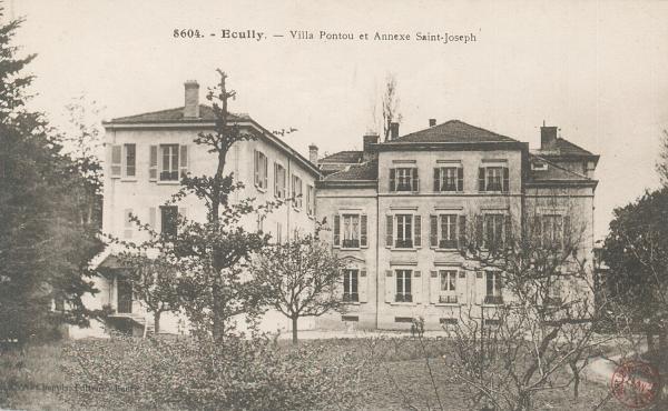 Ecully (Rhône) : Villa Pontou et Annexe Saint-Joseph
