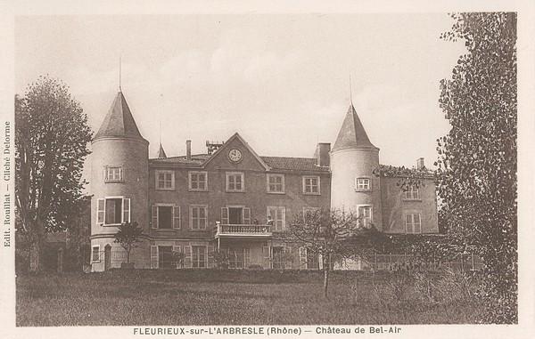 Fleurieux-sur-L'Arbresle (Rhône) : Château de Bel-Air
