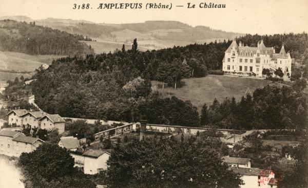 Amplepuis (Rhône) : Le Château