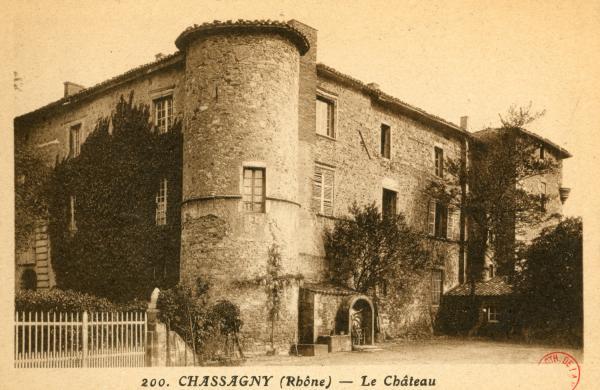 Chassagny (Rhône) : Le Château