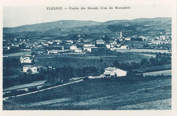 Fleurie (Rhône) : Centre des Grands Crus du Beaujolais
