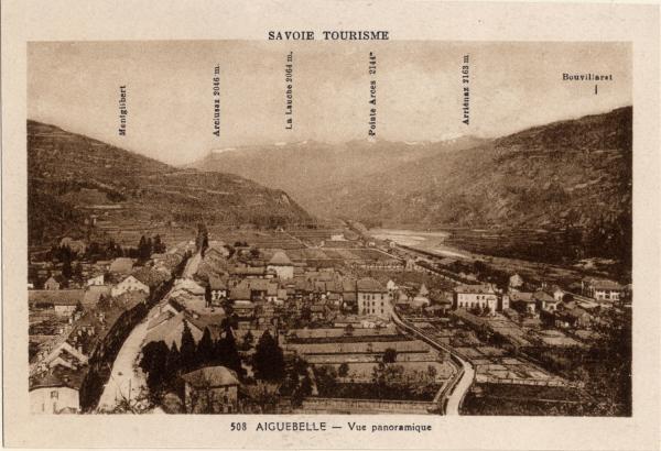 Savoie Tourisme : Aiguebelle ; Vue panoramique