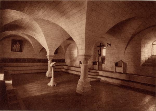 Abbaye N.-D. d'Aiguebelle : Le Chapitre (XIIe s.)