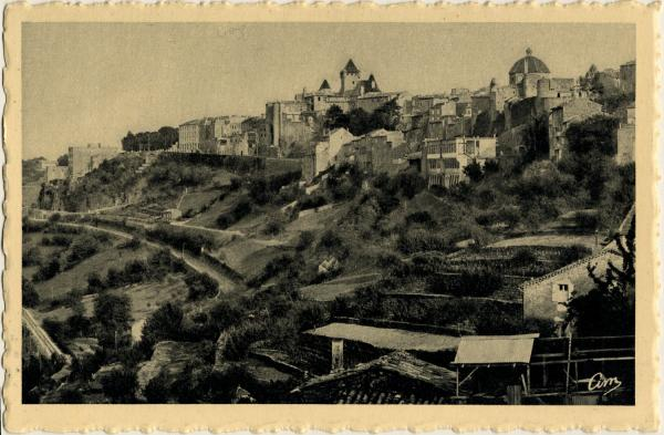 Aubenas (Ardèche) - Vue générale
