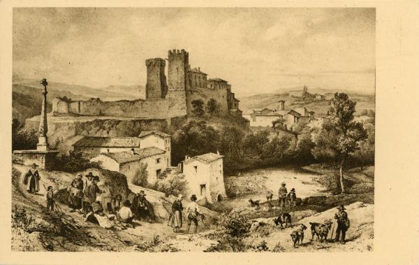 L'Arbresle (Rhône) : Vue du château de L'Arbresle