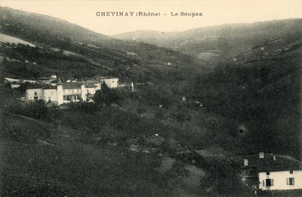 Chevinay (Rhône) : Le Soupas