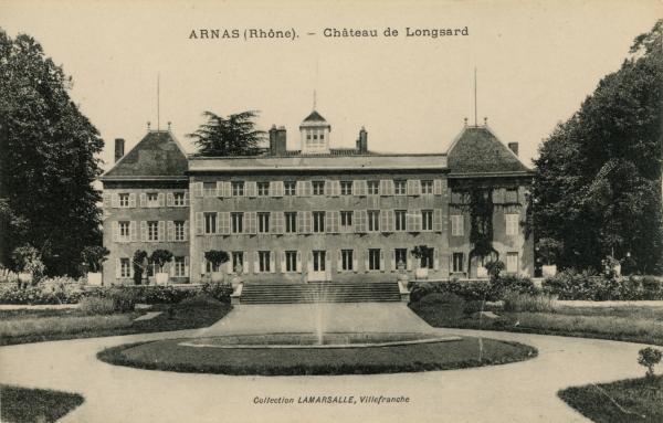 Arnas (Rhône) : Château de Longsard