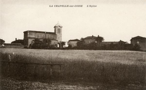 La Chapelle-sur-Coise (Rhône) : L'église