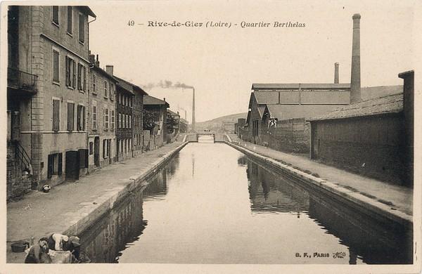 Rive-de-Gier (Loire) : Quartier Berthelas