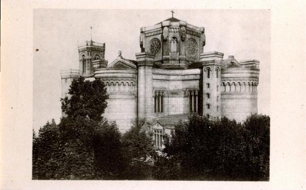 Lyon : Église de L'Immaculée-Conception ; L'Église actuelle, Avenue de Saxe
