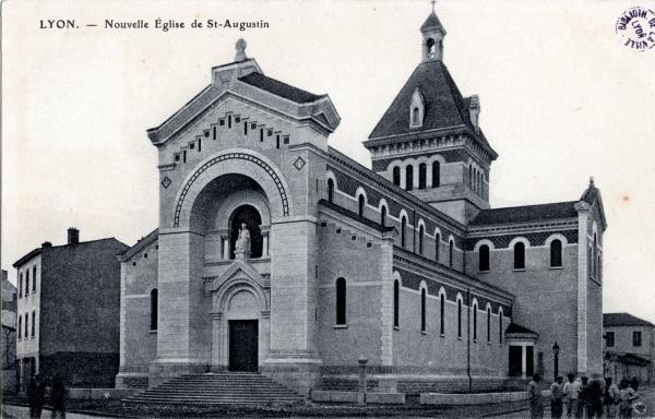 Lyon : Nouvelle Église de St-Augustin