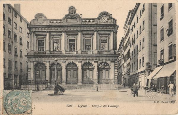 Lyon : Temple du Change