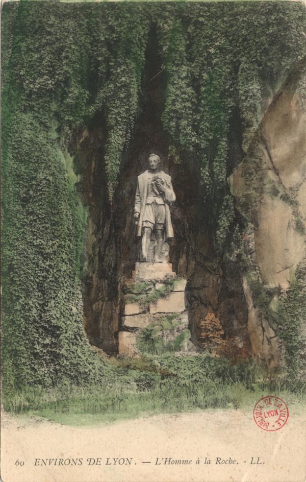Environs de Lyon : L'Homme à la Roche