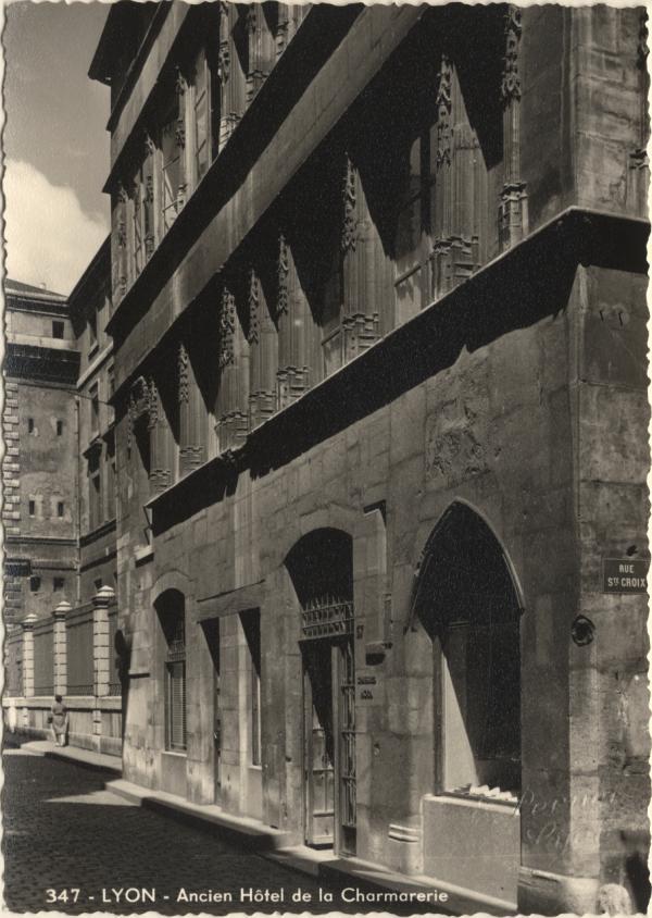 Lyon : Ancien Hôtel de la Charmarerie