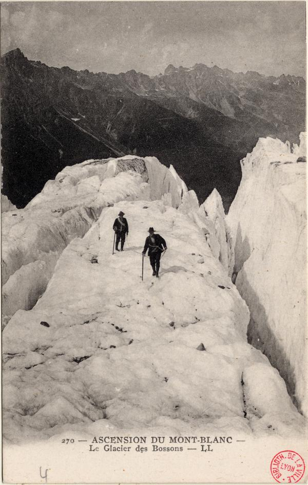 Ascension du Mont-Blanc : le Glacier des Bossons
