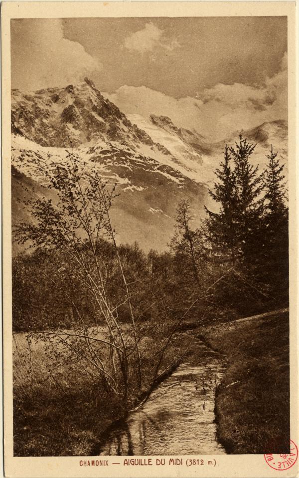 Chamonix : Aiguille du Midi (3812 m.)