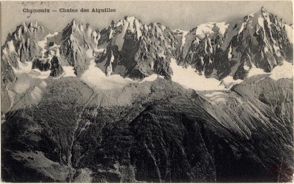 Chamonix : Chaîne des Aiguilles